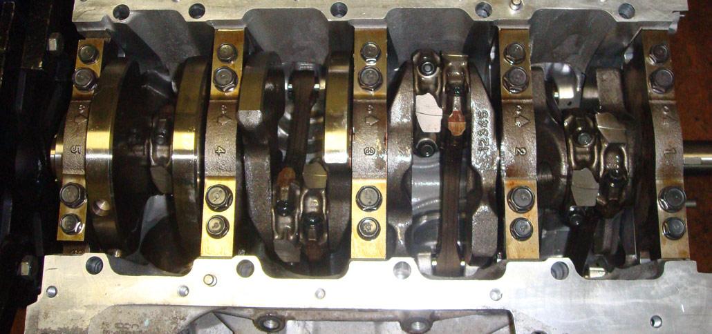 Капитальный ремонт двигателей